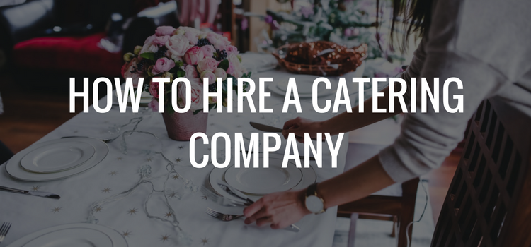HIRE A CATERER
