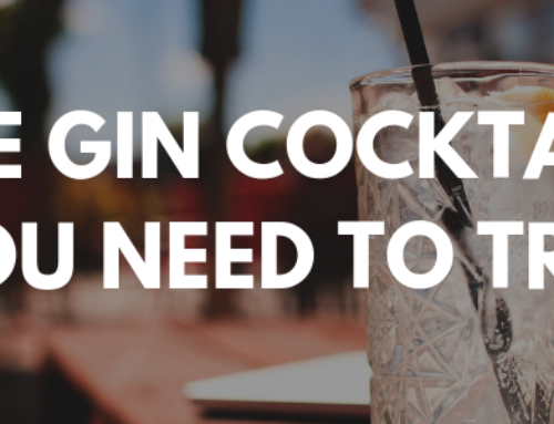 Five Gin Cocktails You Need Try