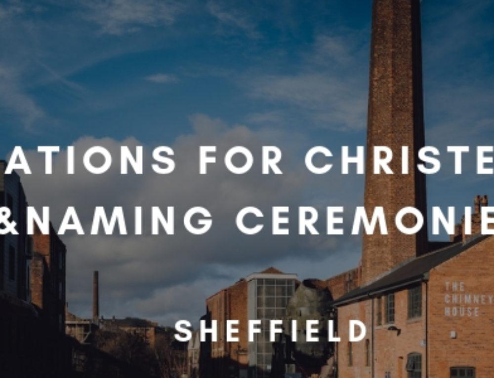 5 Christening Venues in Sheffield