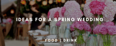 Spring wedding Yorkshire Catering Company
