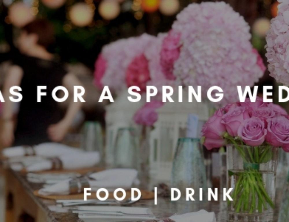 Idea For A Spring Wedding