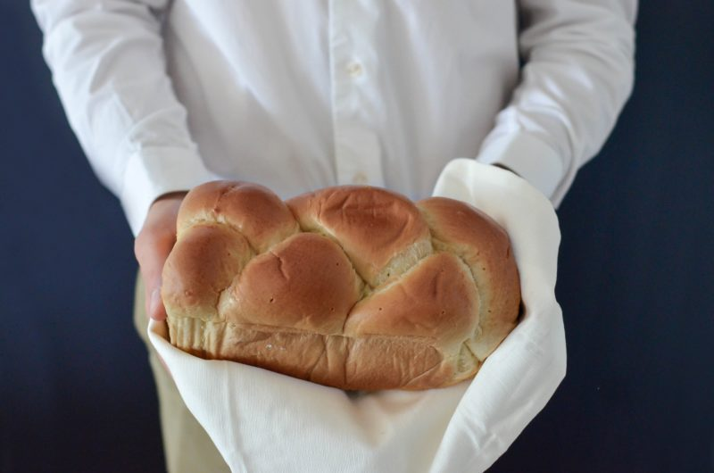 Spring bread wedding