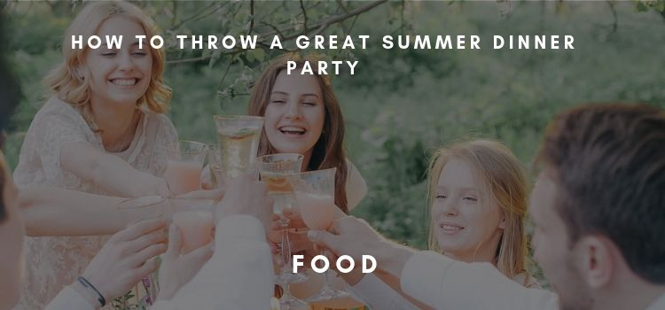 Summer Dinner Party Title